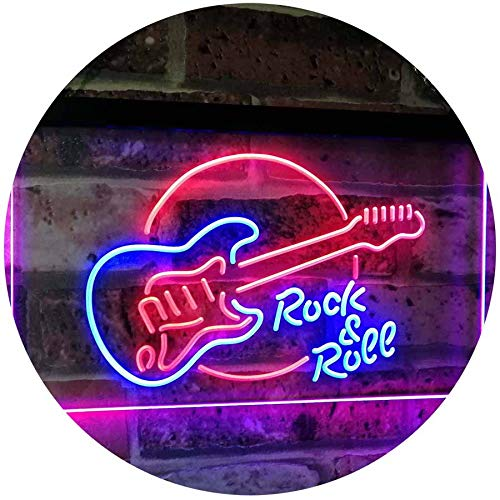 Rock and Roll LED Neon Sign