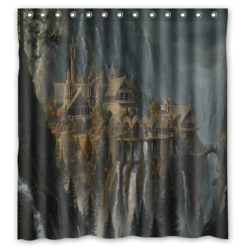 The Lord of the Rings Shower Curtain