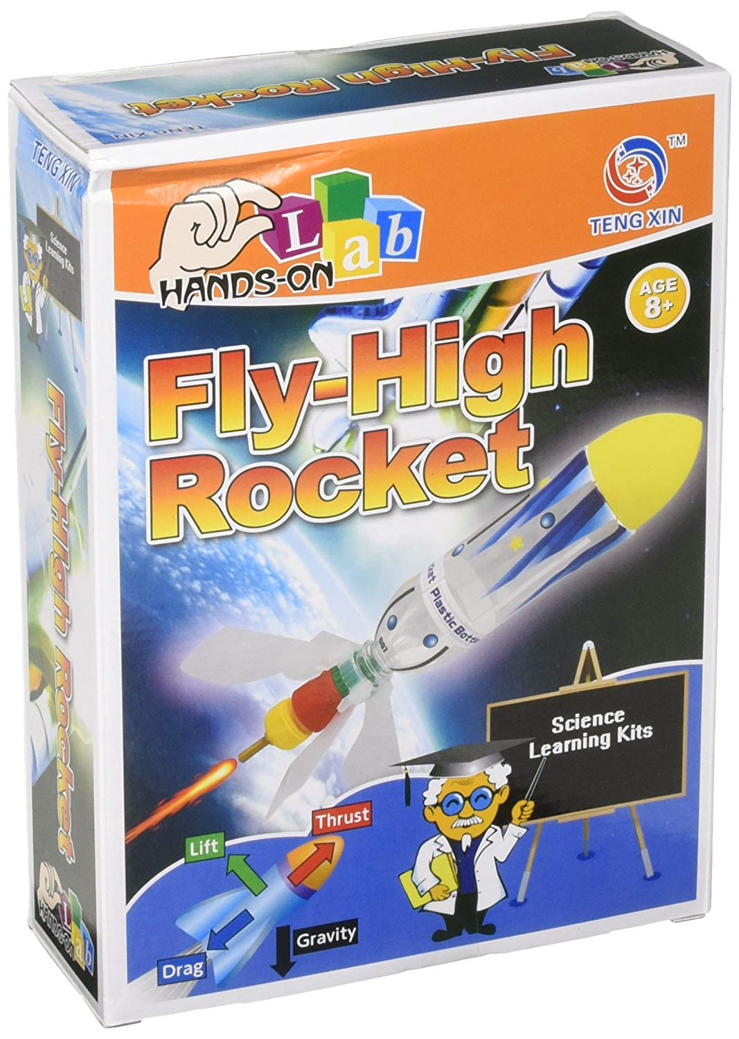 Hands-On-Labs Fly High Rocket Science Kit