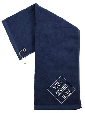 Custom Embroidered Towels | Personalized golf Towels, for Dads, Birthdays and more!